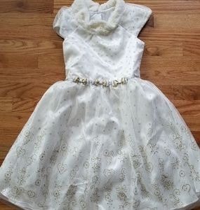 Girls Holiday Dress EUC